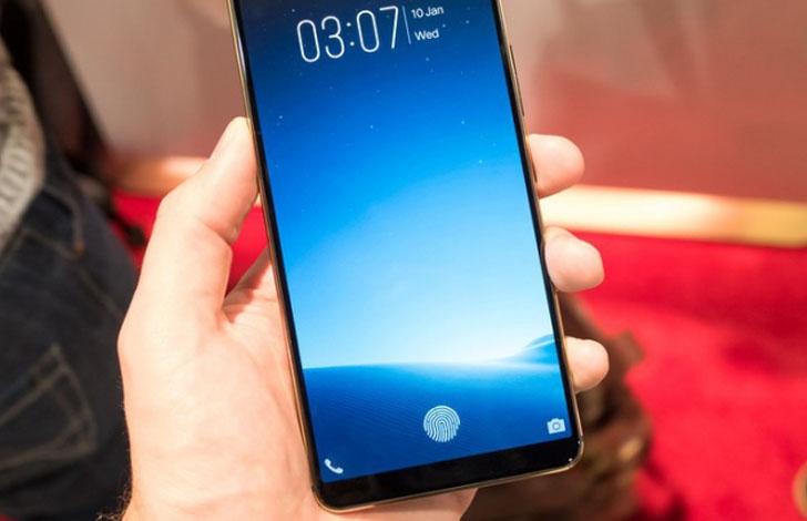 Vivoจัดก่อนแล้วโชว์นวัตกรรมสแกนลาย<br>นิ้วมือผ่านหน้าจอสมาร์ทโฟนในงานCES2018
