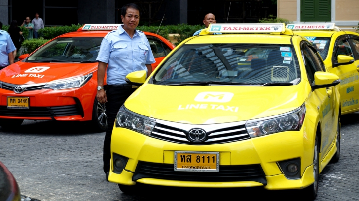 LINE TAXI บริการเรียกแท็กซี่ถูกกฎหมาย<br>ผ่านแอพฯ ร่วมมือกับสหกรณ์แท็กซี่กรุงเทพฯ
