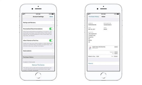 ผู้ใช้ iOS ดูประวัติการชำระเงิน<br>บน App StoreและiTunes ได้แล้ว